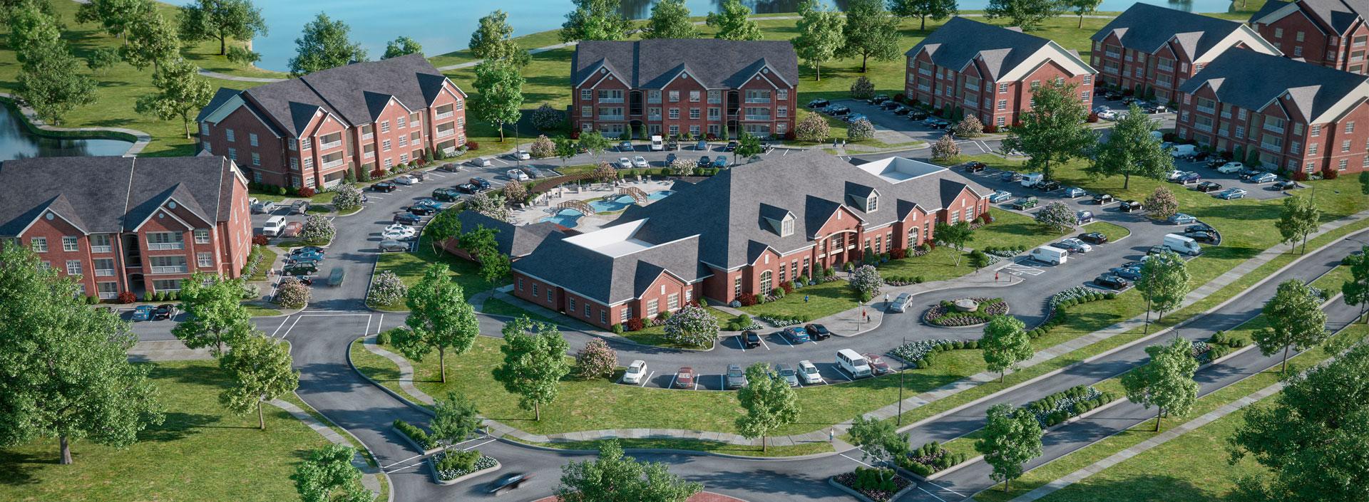 Residential, Columbia, Missouri. Aria Luxury Apartments